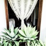 boho woven wallhanging