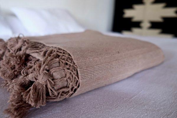 Handwoven Mexican Blanket | Mocha
