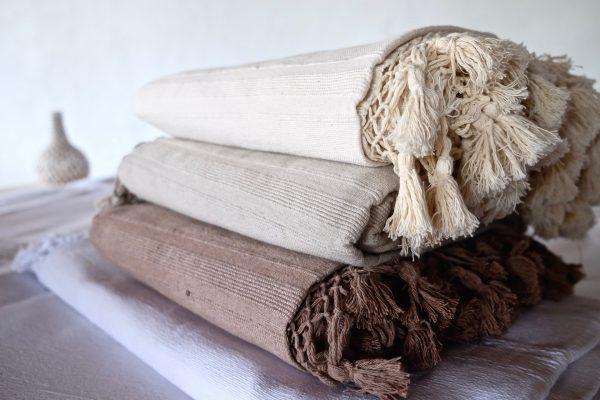 handmade cotton blankets