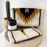 Handmade Mexican Bag | Natural + Ochre
