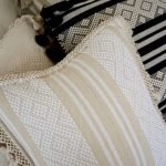 Diamante Handmade Cushion | Natural + Ivory - Nakawe Trading