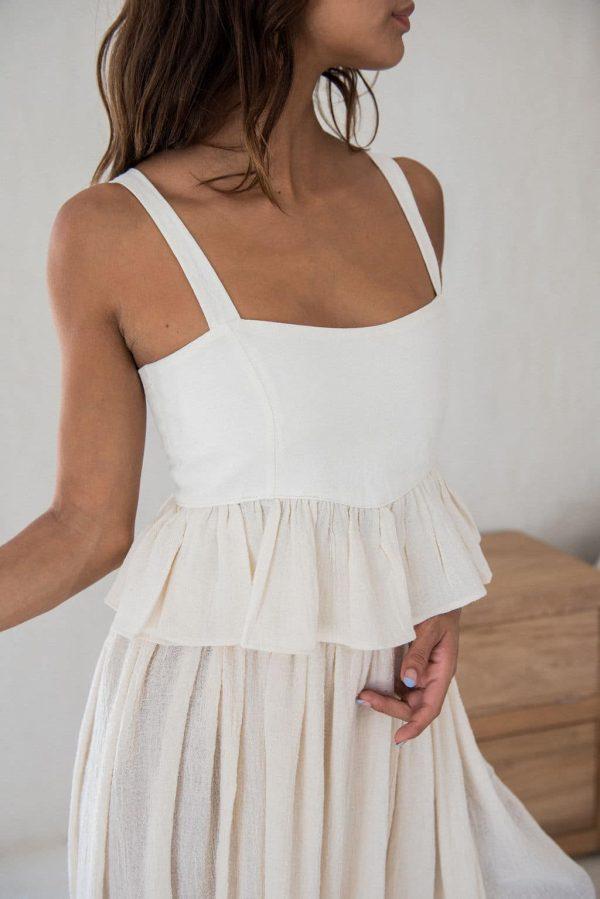 bonita midi top - boho tops for women