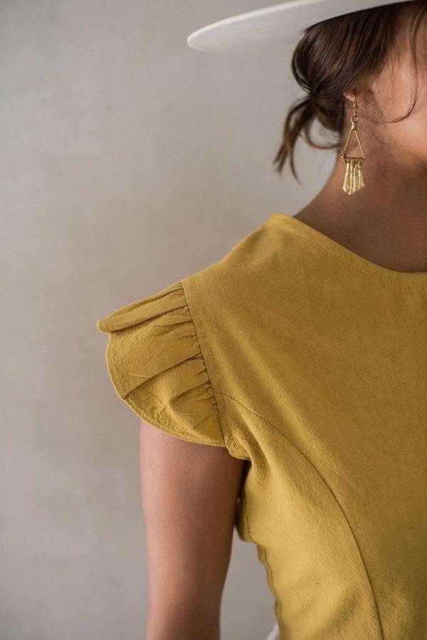 eloise boho blouse