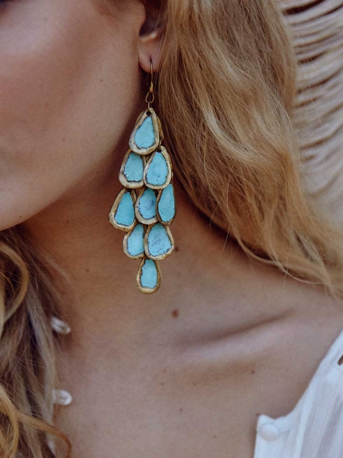 Nakawé Rain earrings