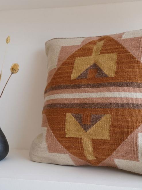 Ek Balam Handmade Mexican Pillow