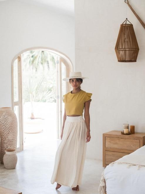 Fraya High-Waisted Skirt
