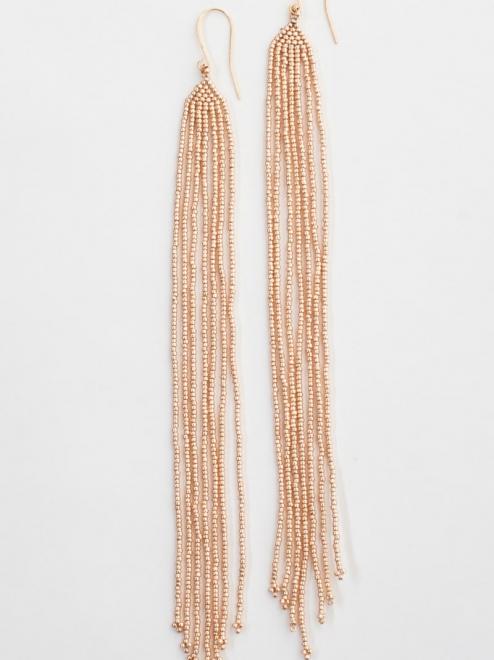 Lahmu earrings in rose gold
