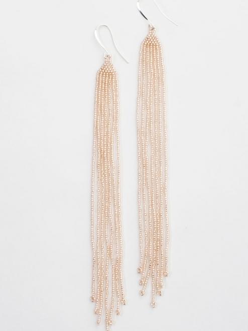 Lahmu earrings in rosaline