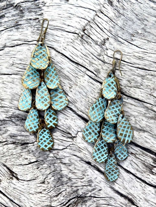 Nakawe Handmade Bronze Earrings