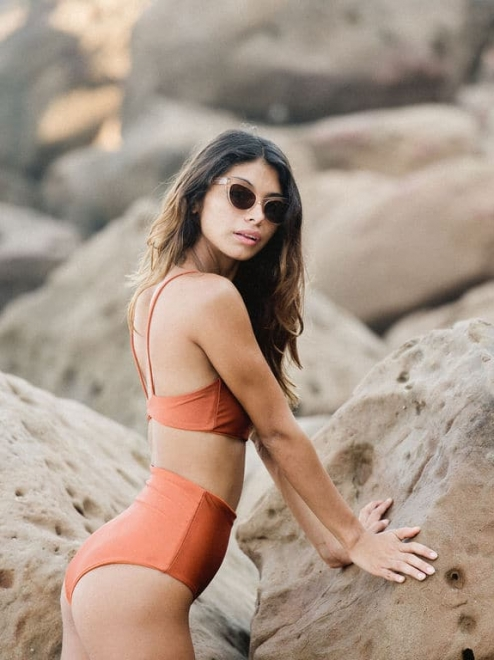 Giselle high-waisted bottoms