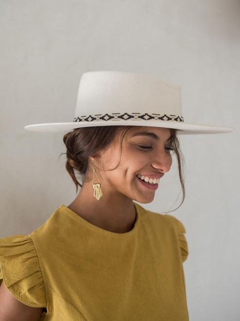 Ikal Bronze Earrings