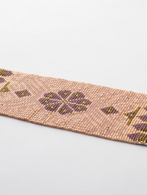 Peyote Medicine Bracelet | Rose gold + Blush