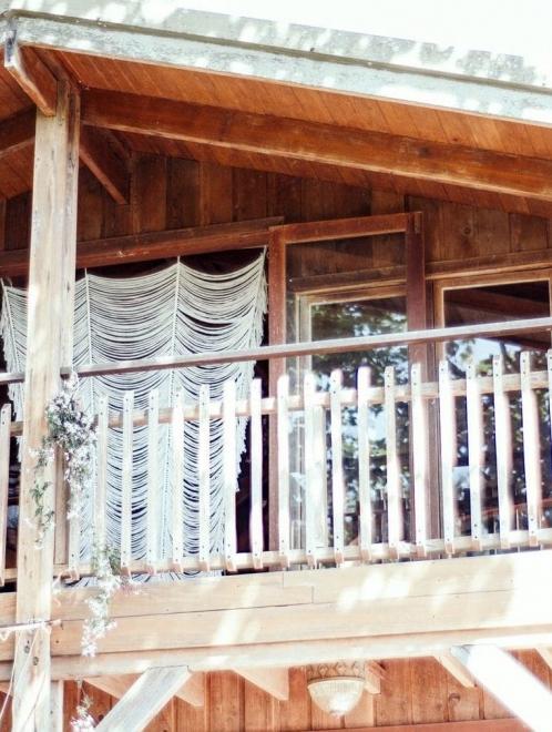 Sierra Knot Curtain in 3 panels