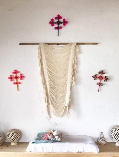 Boho Woven Wall Hanging | Small