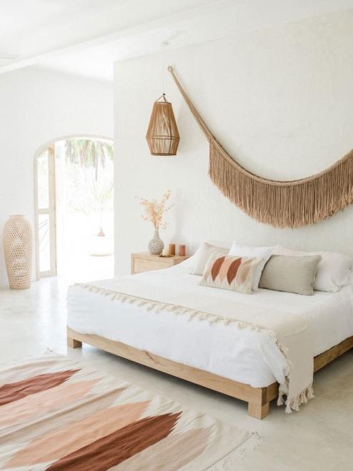 Tierra Mexican Woven Lumbar Pillow | Natural Base