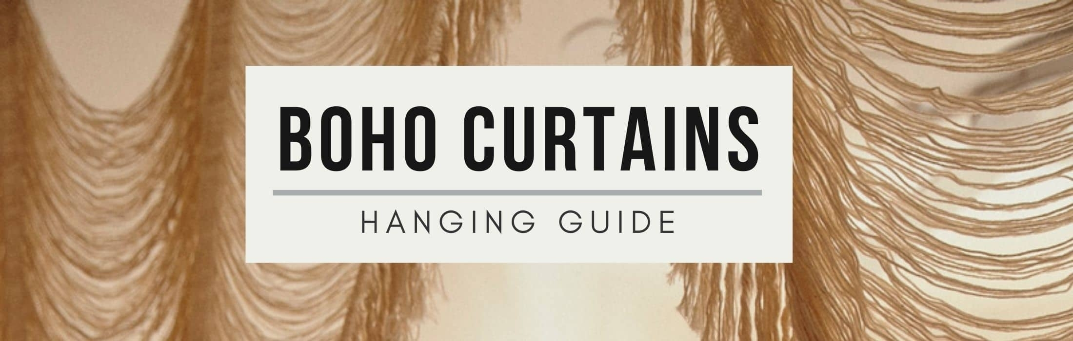 Trendy Boho Curtain Ideas For A Bohemian Inspired Home