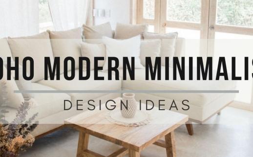 Minimalist Boho Living Room Ideas