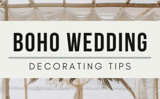 Boho Minimalist Wedding: Decorating Tips