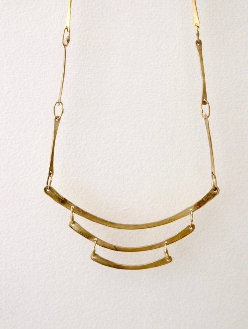 Tonatzin Handmade Bronze Necklace