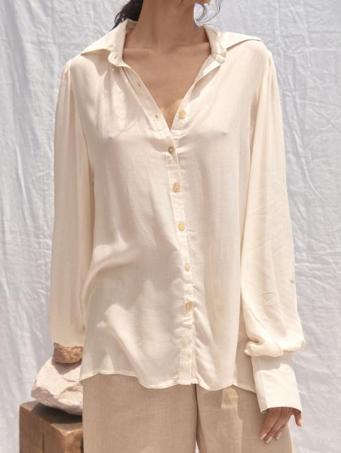 Chloe Shirt Oversized Sleeves