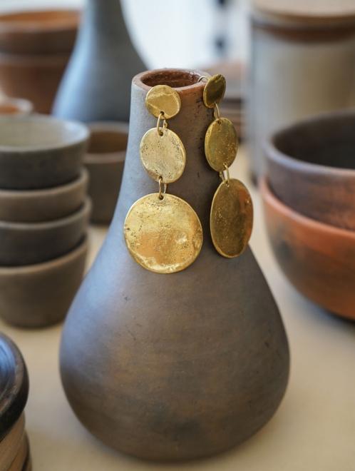 Eclipse Bronze Earrings