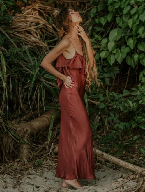 Flora Boho Maxi Dress