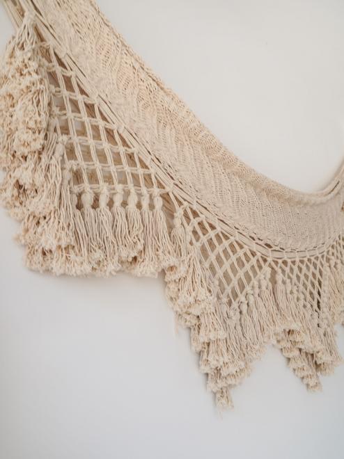 Macrame Handmade Mexican Hammock | Cotton