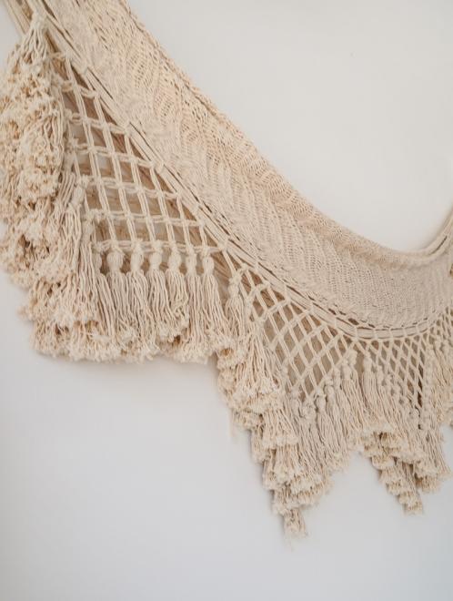 Macrame Handmade Mexican Hammock   Cotton