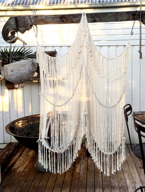 Boho Macrame Wall Hanging | Medium