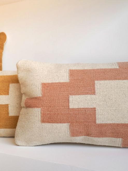 Temple Lumbar Pillow