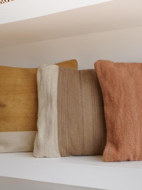 Itzel Handmade Mexican Pillow |  Copper